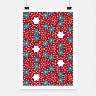 Thumbnail image of ABSTRACT GEOMETRY PATTERN Poster, Live Heroes