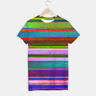 Thumbnail image of Colorful Wood T-Shirt, Live Heroes