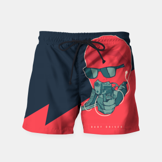 Thumbnail image of Baby Driver Swim Shorts, Live Heroes