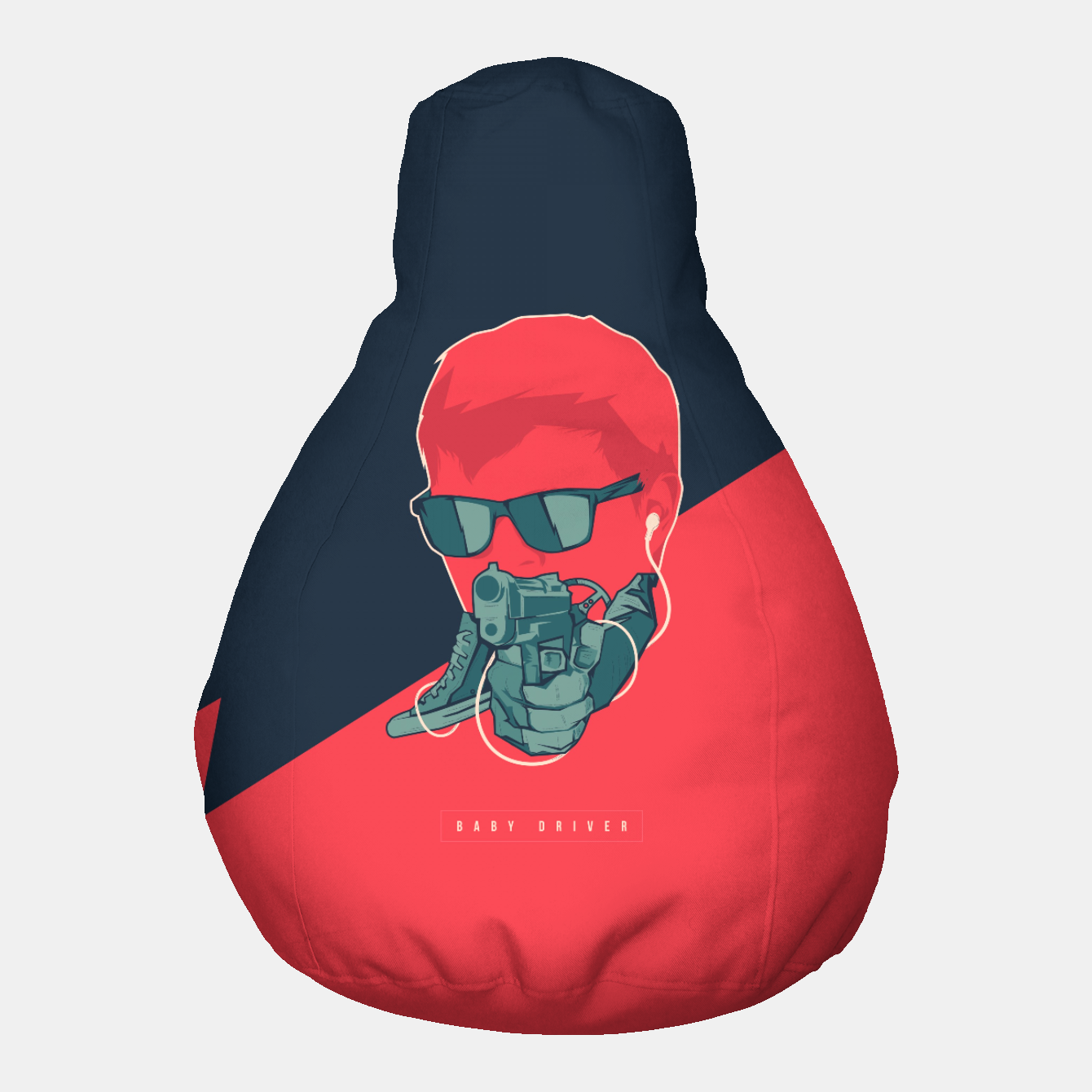 Image of Baby Driver Pouf - Live Heroes