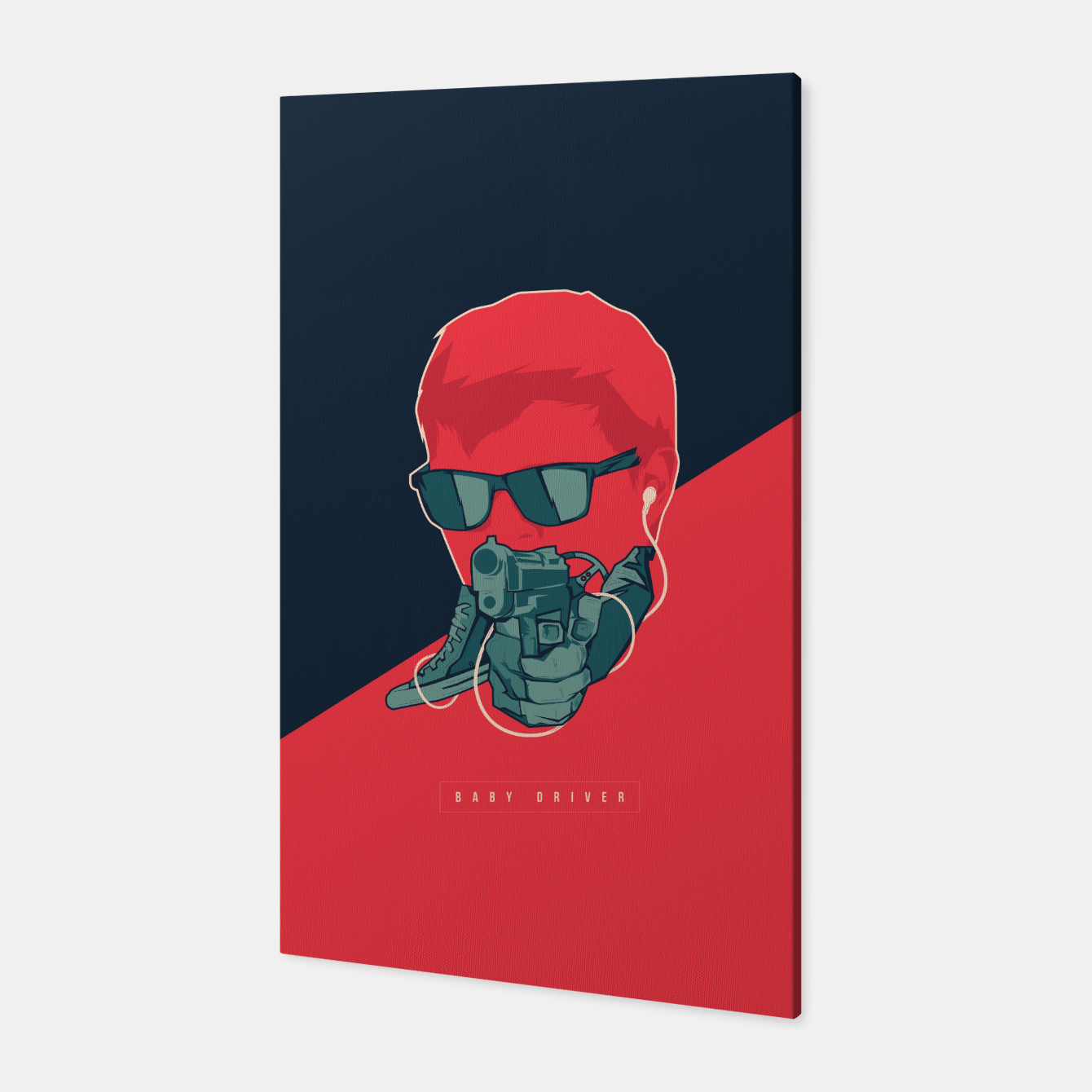 Image of Baby Driver Canvas - Live Heroes