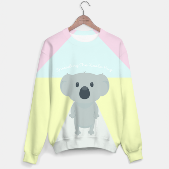 Thumbnail image of Spreading the Koala Hug Sweater, Live Heroes
