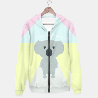 Thumbnail image of Spreading the Koala Hug Hoodie, Live Heroes