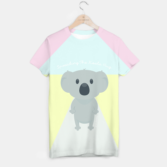 Thumbnail image of Spreading the Koala Hug T-shirt, Live Heroes