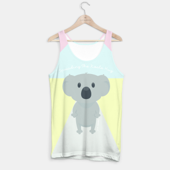 Thumbnail image of Spreading the Koala Hug Tank Top, Live Heroes