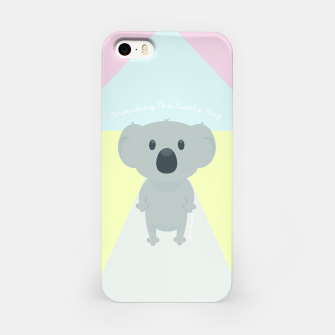 Thumbnail image of Spreading the Koala Hug iPhone Case, Live Heroes
