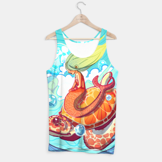 Thumbnail image of Mermaid with Turtle Tank Top, Live Heroes
