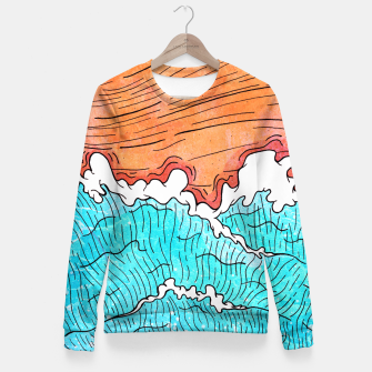 Thumbnail image of Seashore Fitted Waist Sweater, Live Heroes