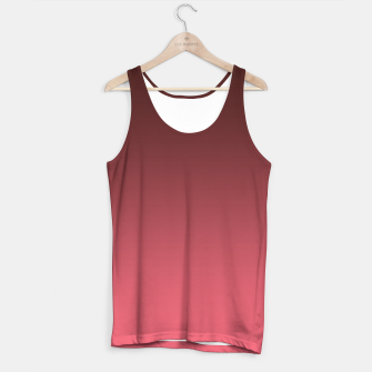 Miniaturka Ombre gradient red colors Tank Top, Live Heroes