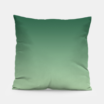 Miniaturka Ombre gradient green colors Pillow, Live Heroes