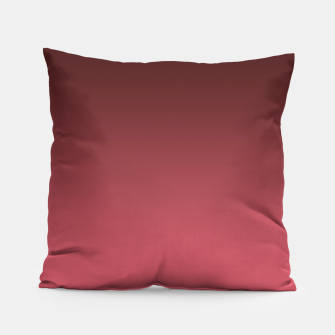 Miniaturka Ombre gradient red colors Pillow, Live Heroes