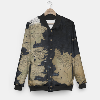 Thumbnail image of Game of Thrones Baseball Jacket, Live Heroes