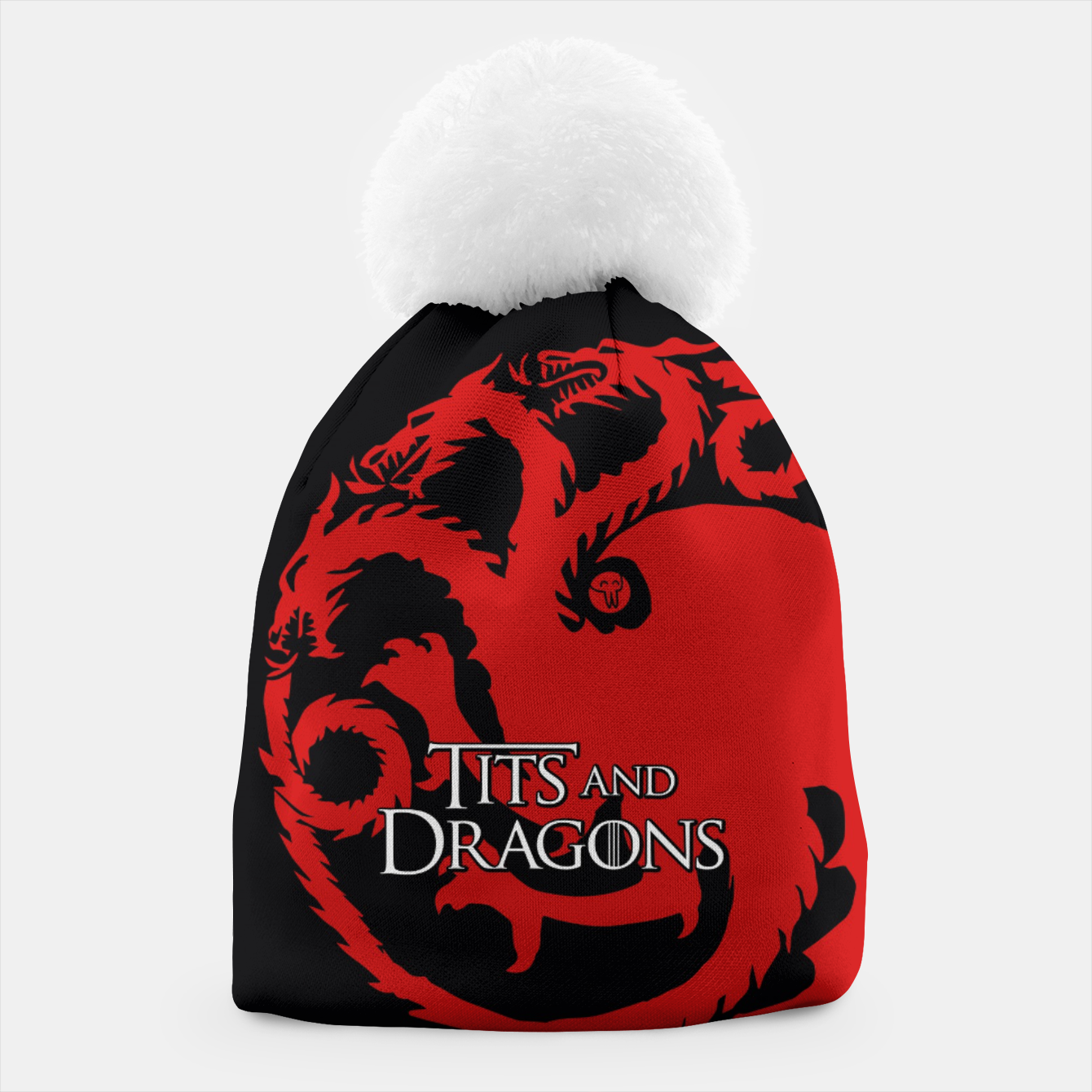 Zdjęcie Game of Thrones - Tits and Dragons Czapka - Live Heroes