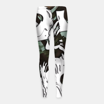 Whiteness Girl's Leggings thumbnail image