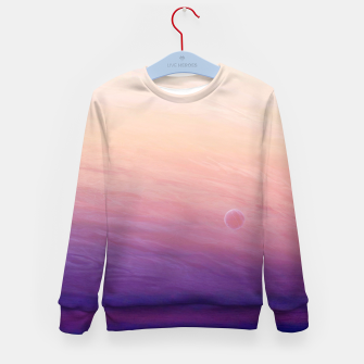 Thumbnail image of Little planet Kid's Sweater, Live Heroes