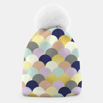 Thumbnail image of Fish scales pattern Beanie, Live Heroes