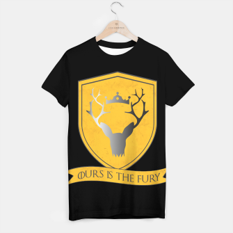Thumbnail image of Ours is the Fury - Baratheon T-Shirt, Live Heroes