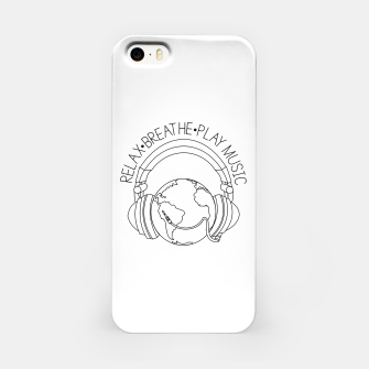 Thumbnail image of Relax.Breathe.Play Music iPhone Case, Live Heroes