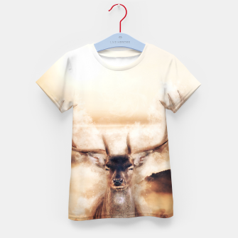 Thumbnail image of kids t-shirt Fawn, Live Heroes