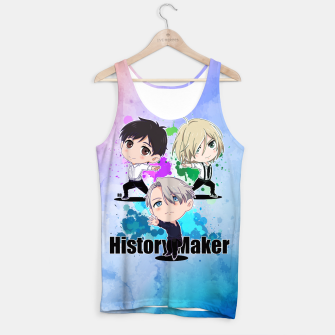 Thumbnail image of Yuri On Ice History Maker Tank Top, Live Heroes