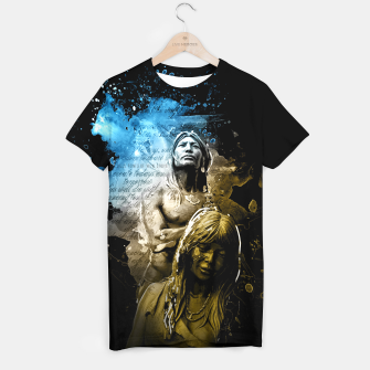 Thumbnail image of Native Indian T-Shirt, Live Heroes