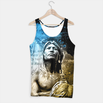 Thumbnail image of Indian Native Tank Top, Live Heroes