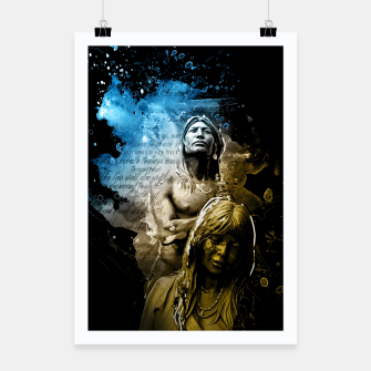 Thumbnail image of Native American Indian Poster, Live Heroes