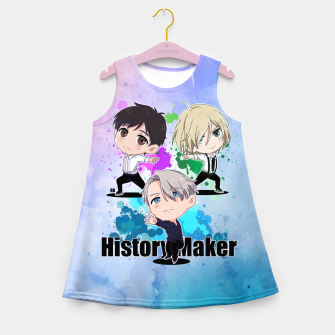 Thumbnail image of Yuri On Ice History Maker Girl's Summer Dress, Live Heroes