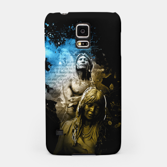 Thumbnail image of Native American Indian Art Samsung Case, Live Heroes