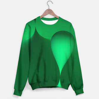 Thumbnail image of globby green Sweater, Live Heroes