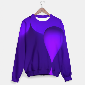 Thumbnail image of globby lilac Sweater, Live Heroes