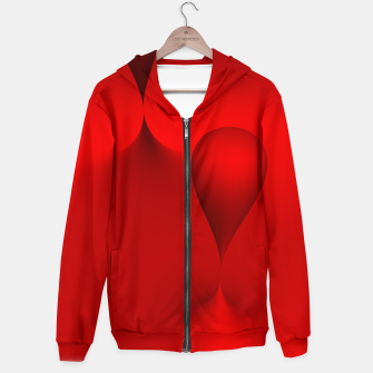 Thumbnail image of globby red Hoodie, Live Heroes