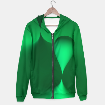 Thumbnail image of globby green Hoodie, Live Heroes