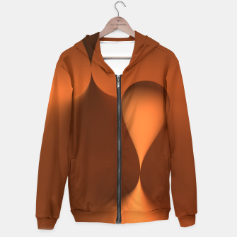Thumbnail image of globby orange Hoodie, Live Heroes