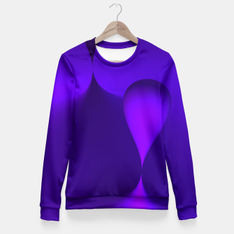 Thumbnail image of globby lilac Fitted Waist Sweater, Live Heroes