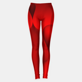 Thumbnail image of globby red Leggings, Live Heroes