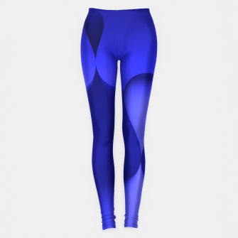 Thumbnail image of globby blue Leggings, Live Heroes