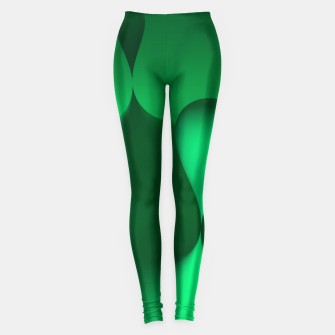 Thumbnail image of globby green Leggings, Live Heroes