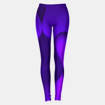 Thumbnail image of globby lilac Leggings, Live Heroes