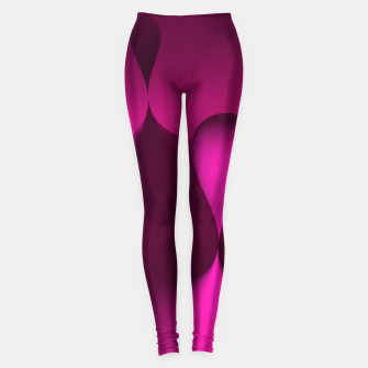 Thumbnail image of globby pink Leggings, Live Heroes