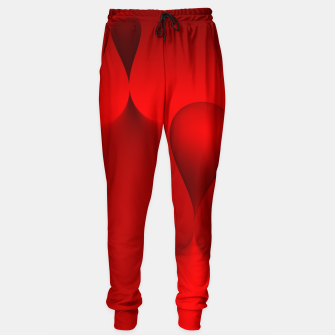 Thumbnail image of globby red Sweatpants, Live Heroes
