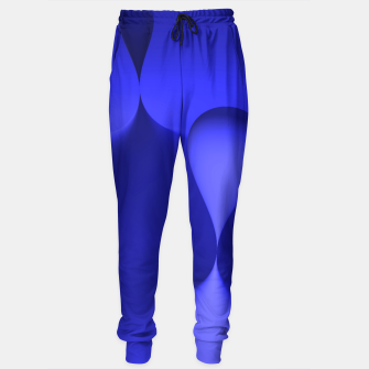 Thumbnail image of globby blue Sweatpants, Live Heroes