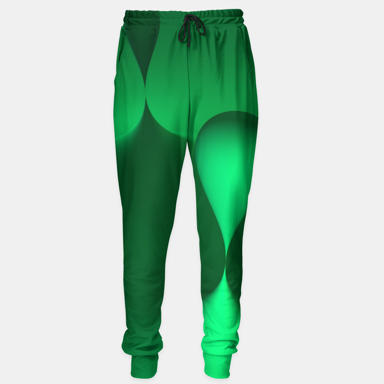 Image of globby green Sweatpants - Live Heroes