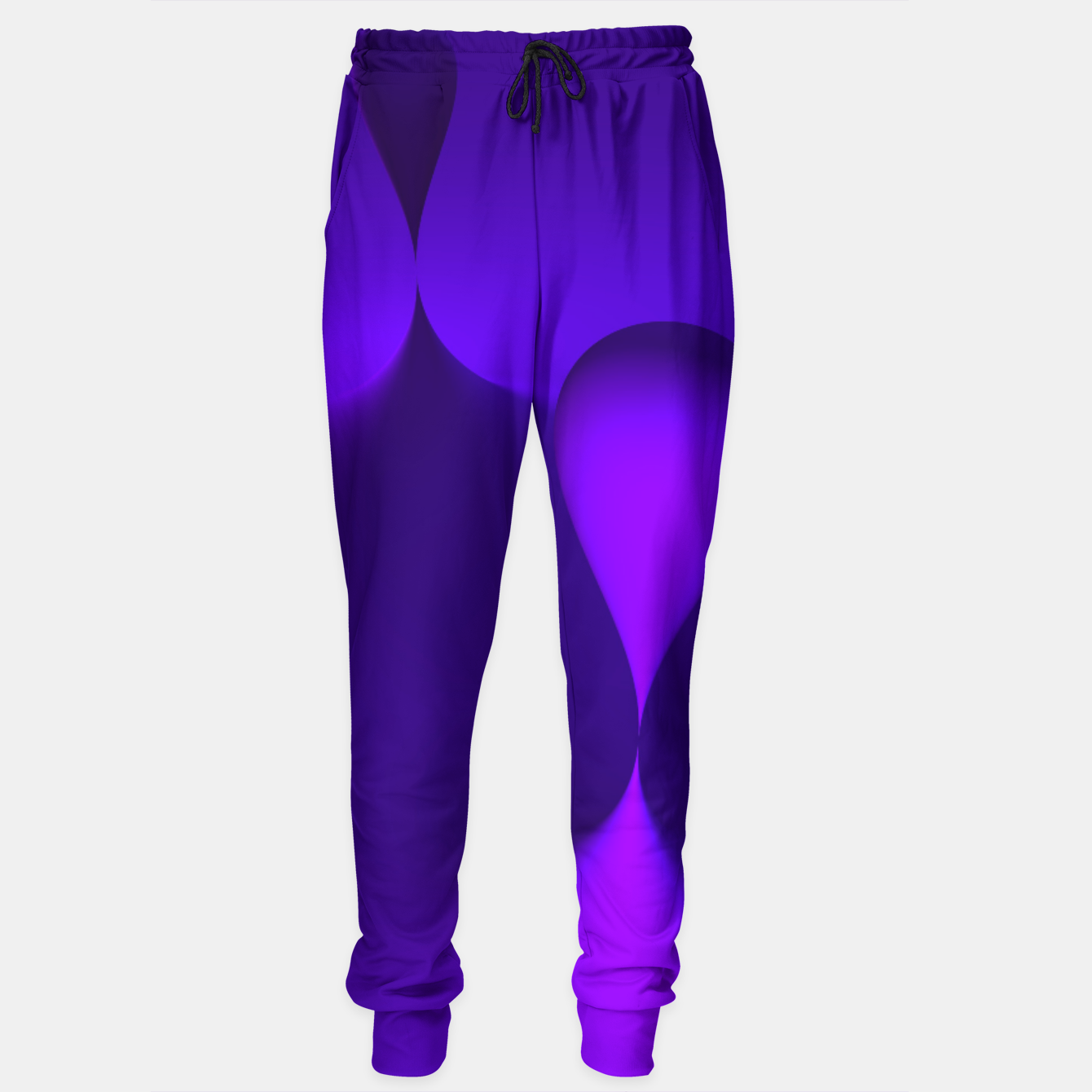 Image of globby lilac Sweatpants - Live Heroes