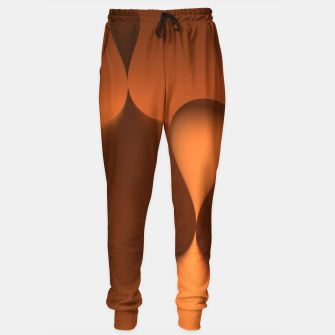 Thumbnail image of globby orange Sweatpants, Live Heroes