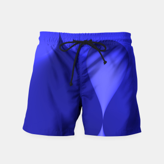 Thumbnail image of globby blue Swim Shorts, Live Heroes