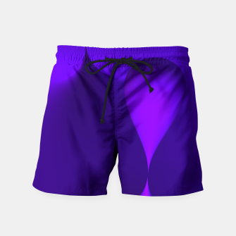 Thumbnail image of globby lilac Swim Shorts, Live Heroes
