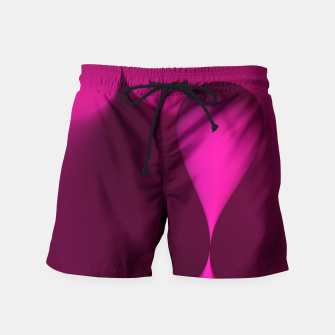 Thumbnail image of globby pink Swim Shorts, Live Heroes