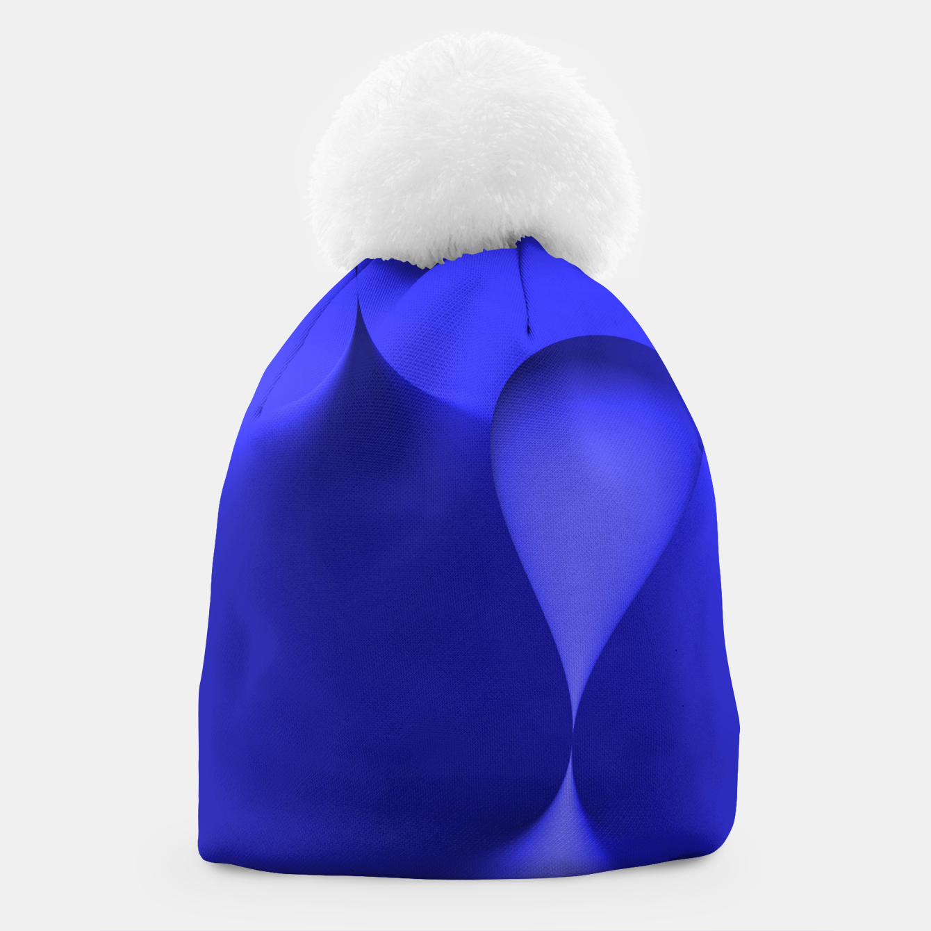 Image of globby blue Beanie - Live Heroes