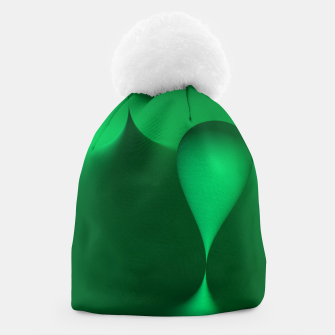 Thumbnail image of globby green Beanie, Live Heroes
